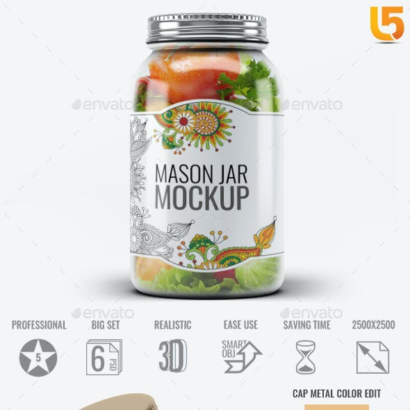 Mason Jar Mock-Up V.1