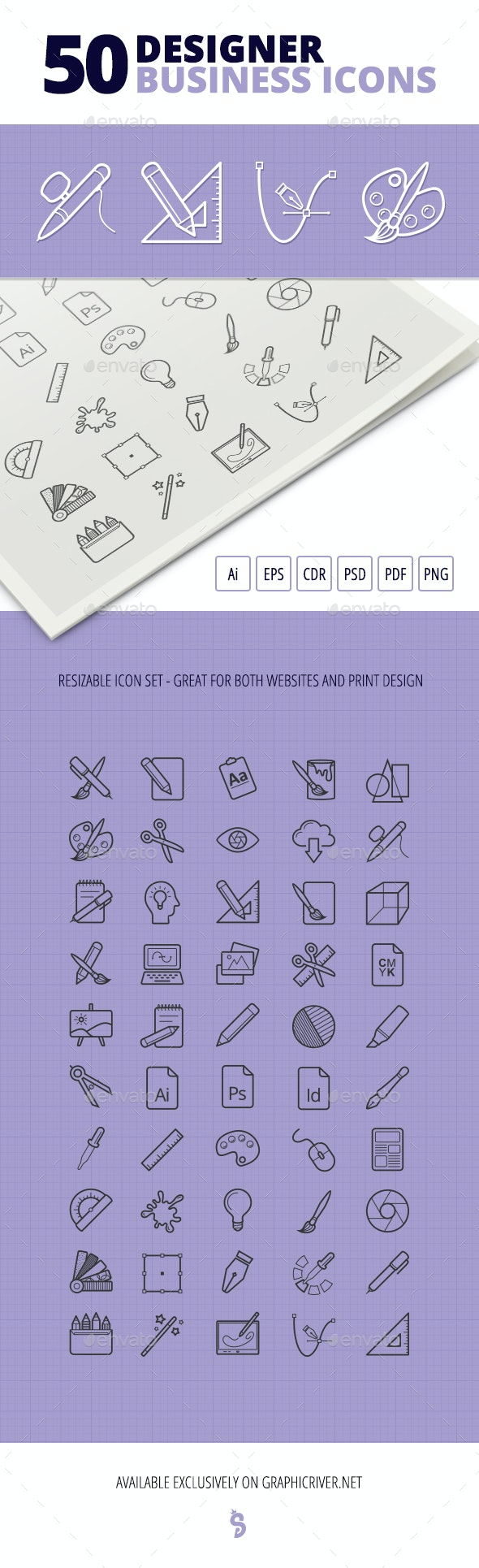 50 Designer Business Icons - Business Icons