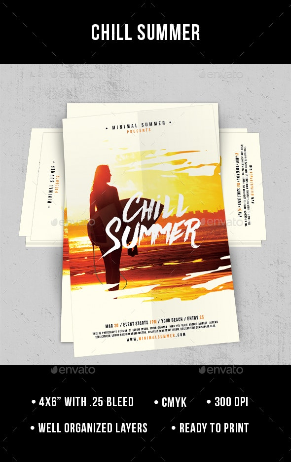 Chill Summer - Flyer - Clubs & Parties Events