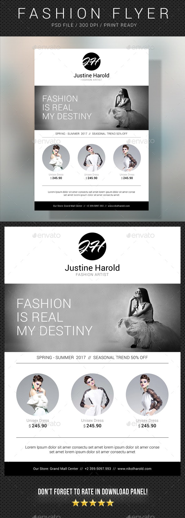 Fashion Flyer 03 - Commerce Flyers