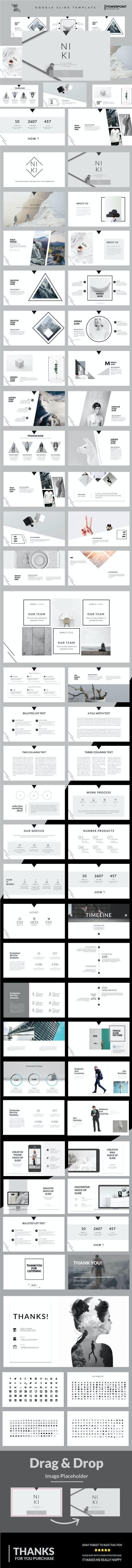 Niki - Google Slide Template - Google Slides Presentation Templates