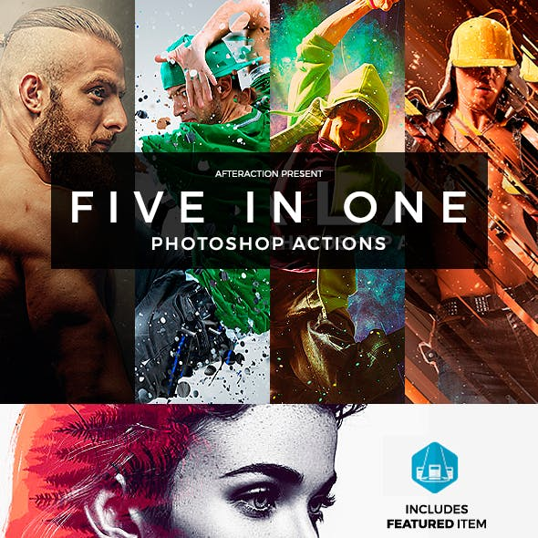 After Actions Bundle - Photoshop Actions