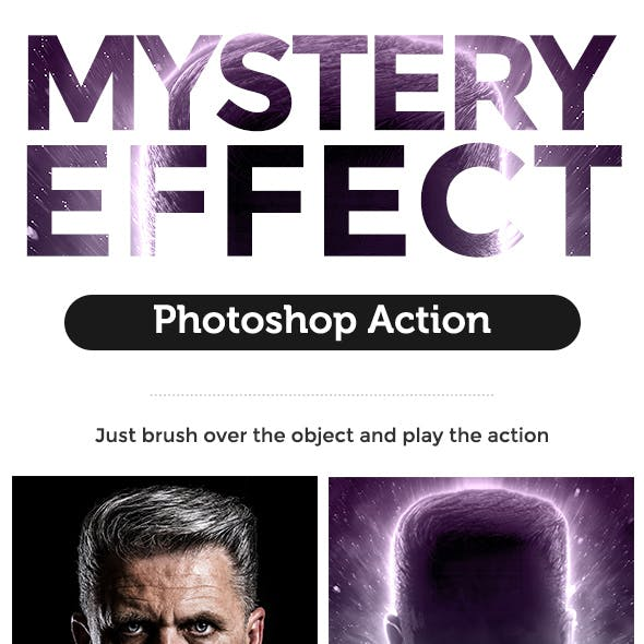 Mystery Effect Photoshop Action