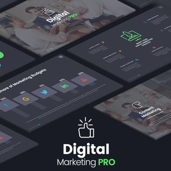 The Digital Marketing Pro - Powerpoint Template