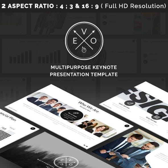 EVO - Keynote Presentation Template