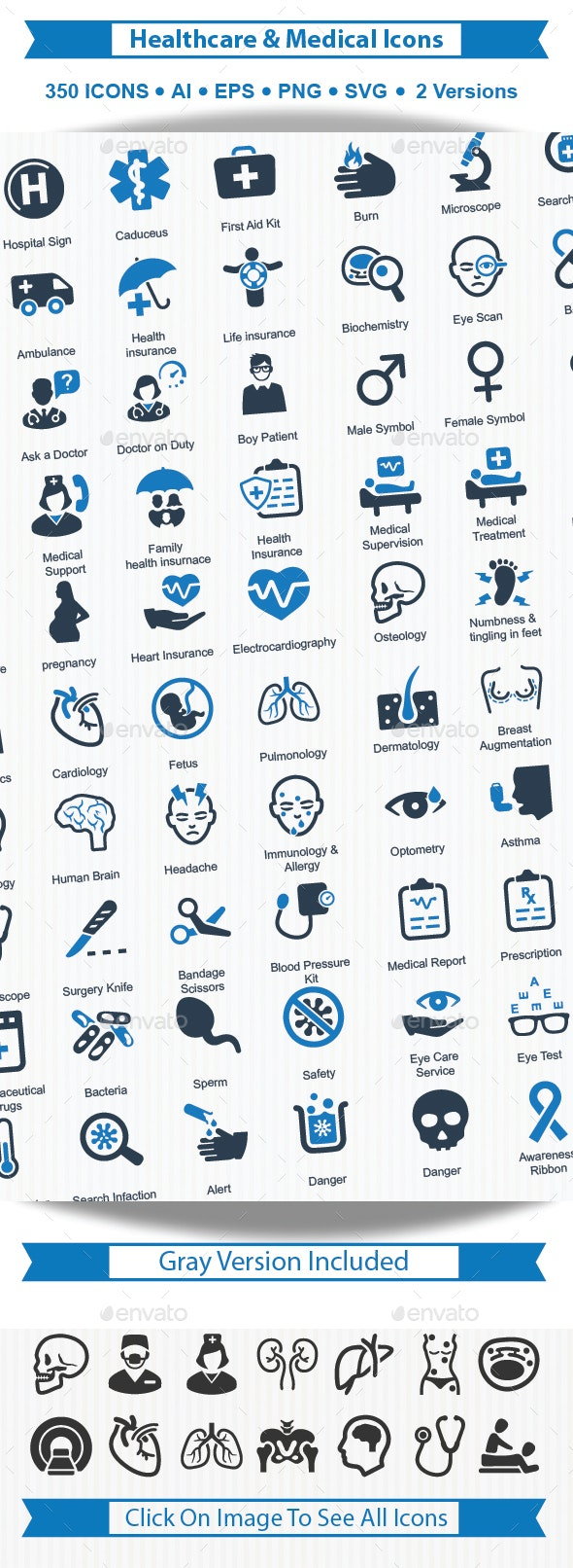 Health care & Medical Icons - Web Icons