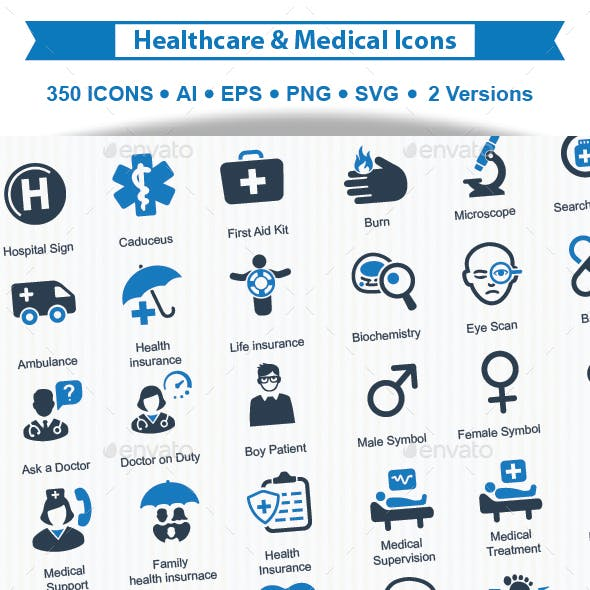 Health care & Medical Icons