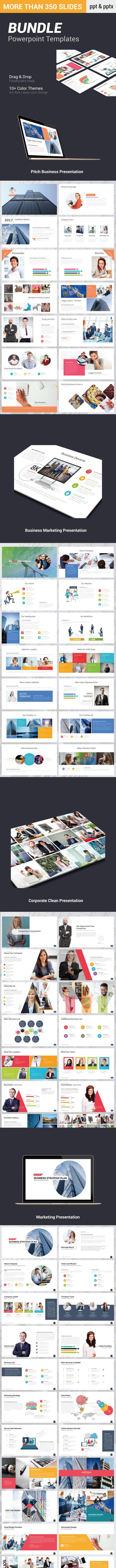 Bundle Powerpoint Presentation Templates - Pitch Deck PowerPoint Templates
