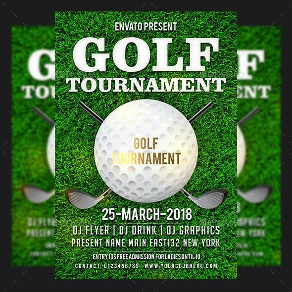 Golf Tournament Flyers