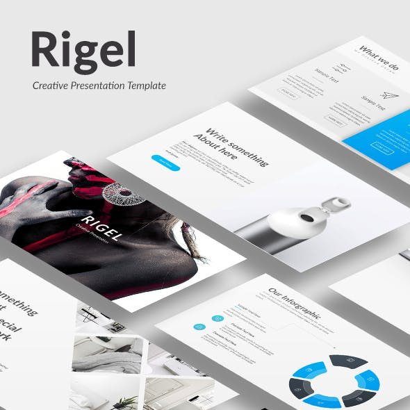 Rigel - Creative Google Slide Template