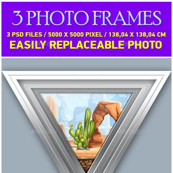 Gray Photo Frames