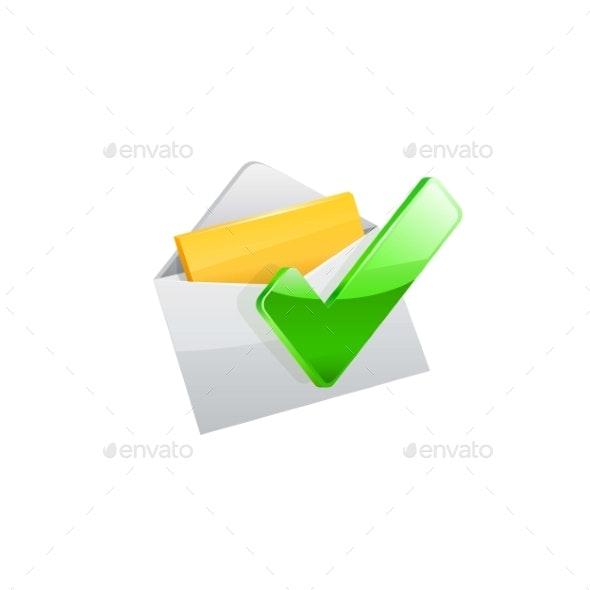E-mail Icon - Computers Technology