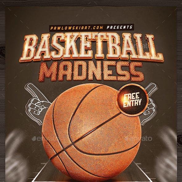 Basketball Madness v2 Flyer Template