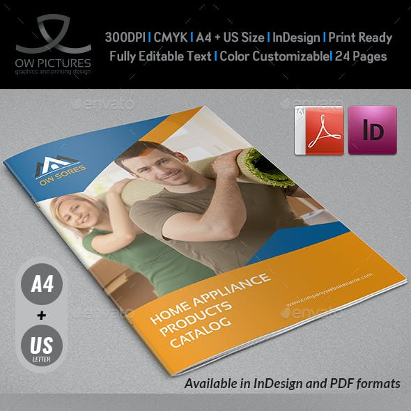 Products Catalog Brochure Template Vol2 - 24 Pages
