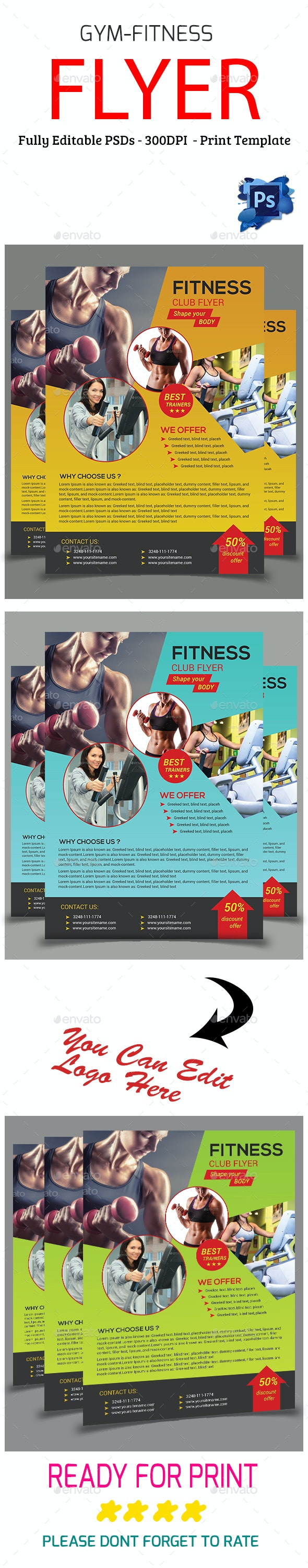 Gym-Fitness Flyer - Sports Events