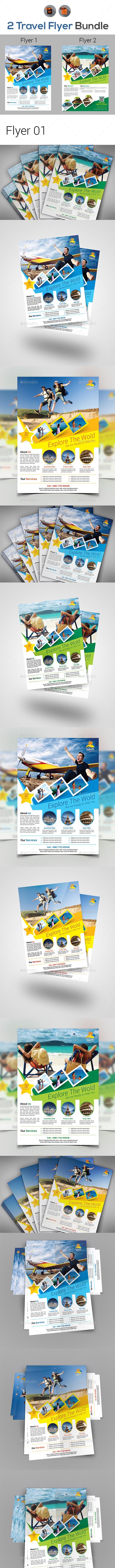 Travel Flyers Bundle - Events Flyers