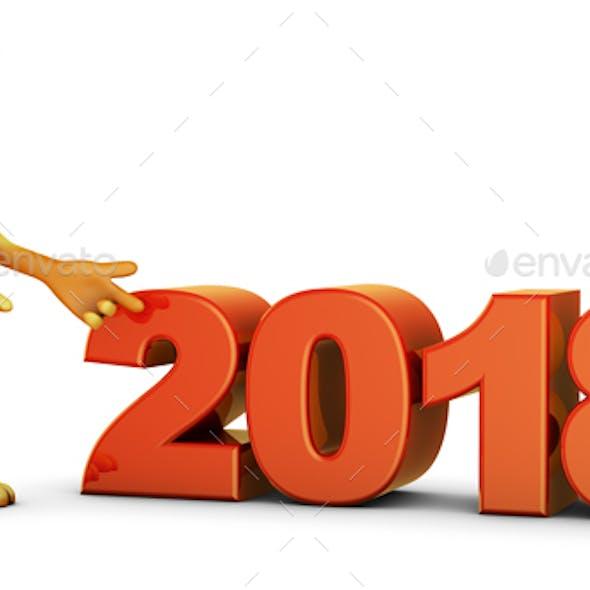 Dog End Volumetric Figures 2018