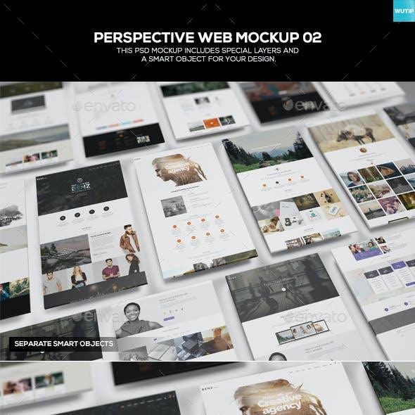 Perspective Web Mockup 02