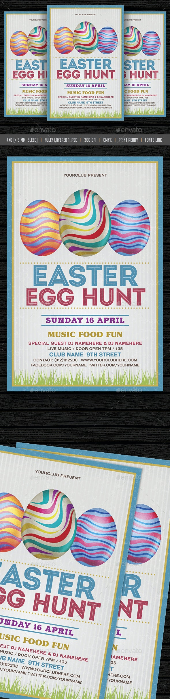 Easter Flyer - Events Flyers