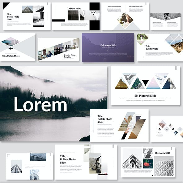 Lorem - Keynote Presentation Template