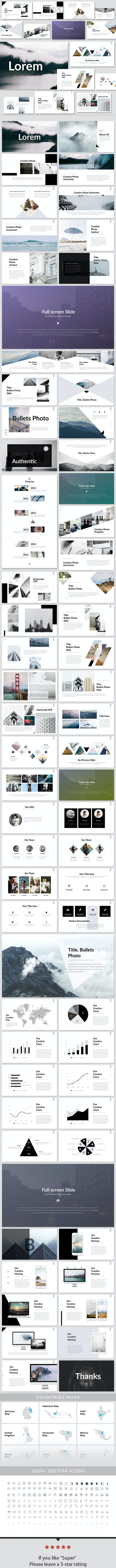 Lorem - Keynote Presentation Template - Creative Keynote Templates