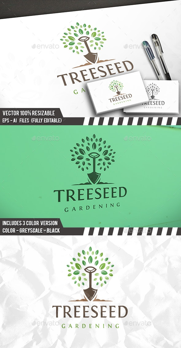 Tree Seed Logo