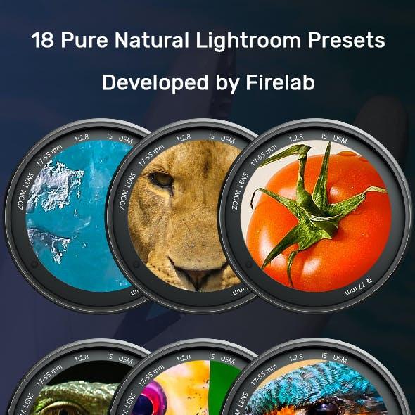 18 Pure Natural Lr Presets