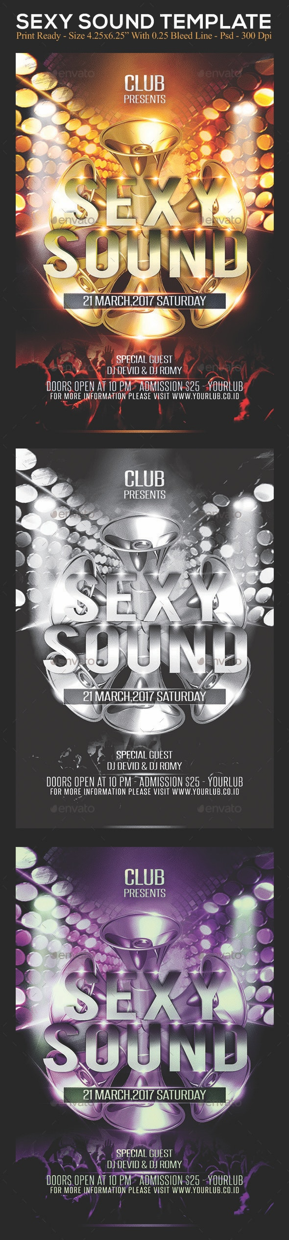 Sexy Sound - Clubs & Parties Events