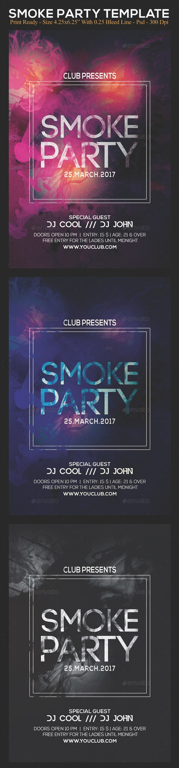 Smoke Party - Clubs & Parties Events