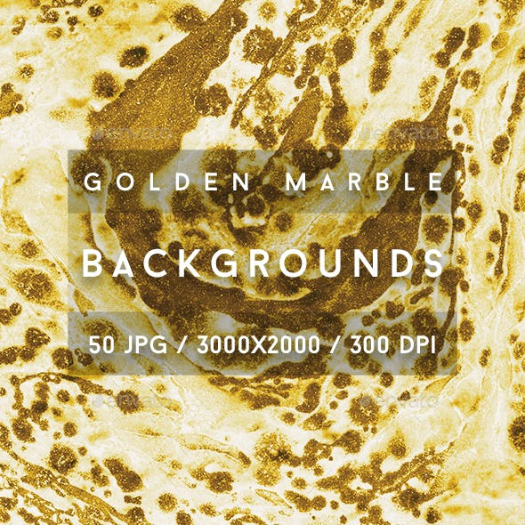 50 Golden Marble Backgrounds
