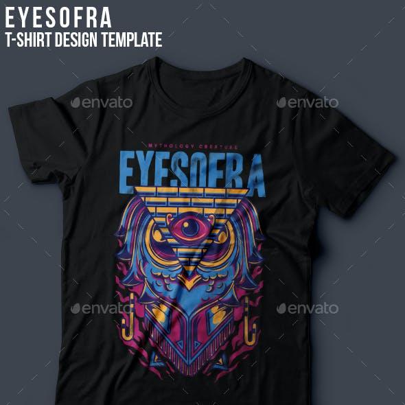 Eyes of Ra T-Shirt Design