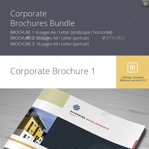 Corporate Brochures Bundle No.2