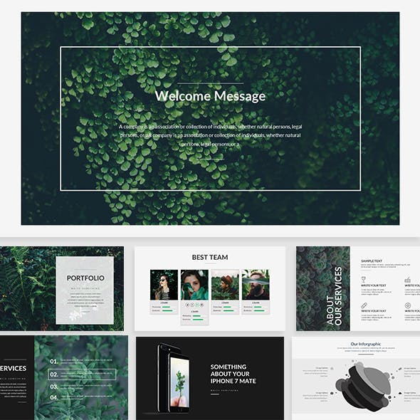 Pegasi - Creative Keynote Template