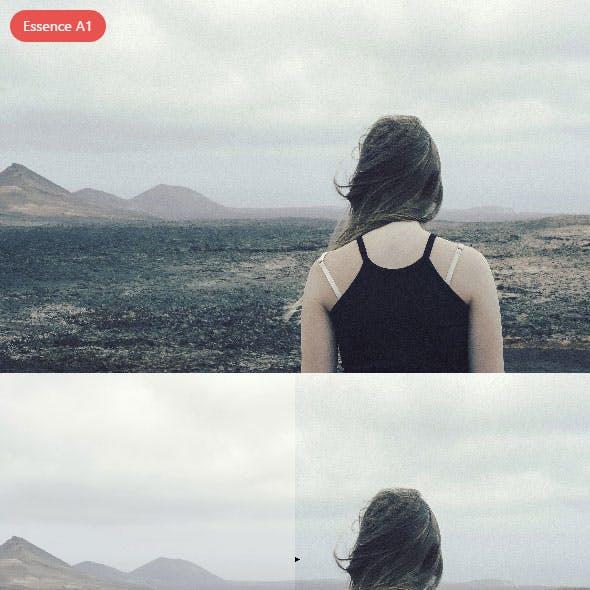 Essence A1 Photoshop Action