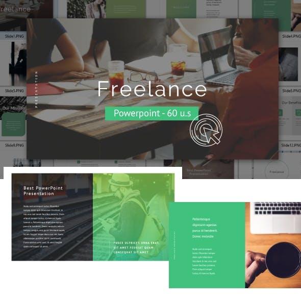 Freelance - Powerpoint Template