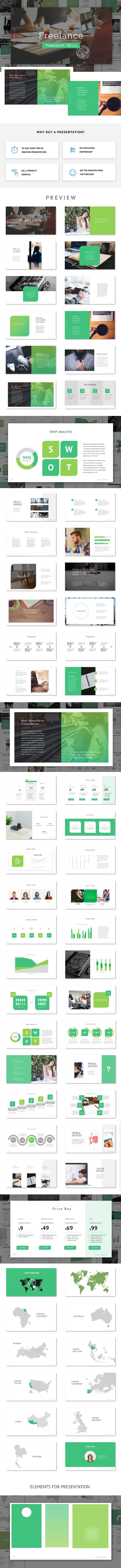 Freelance - Powerpoint Template - PowerPoint Templates Presentation Templates