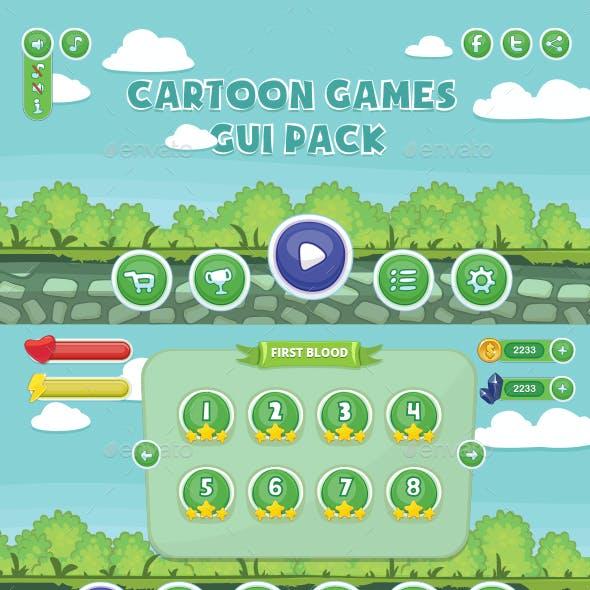 Cartoon Games GUI Pack