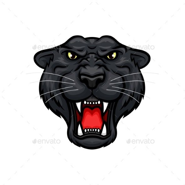 Panther Roaring - Animals Characters