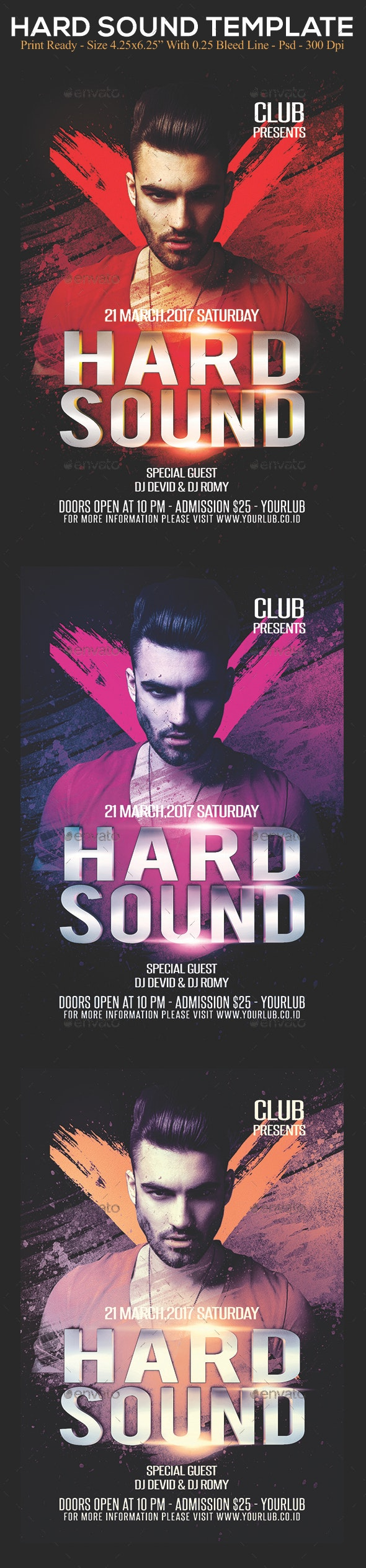 Hard Sound - Clubs & Parties Events