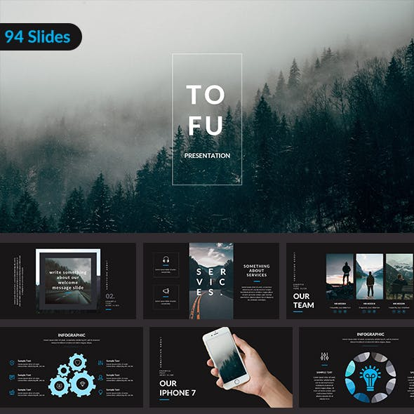 Tofu - Creative Powerpoint Template