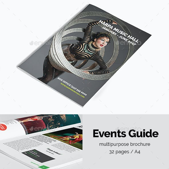 Event Guide | Creative Brochure
