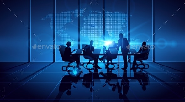Business People Teamwork - Concepts Business