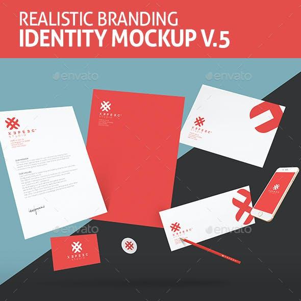 Realistic Branding & Identity Design Mockups