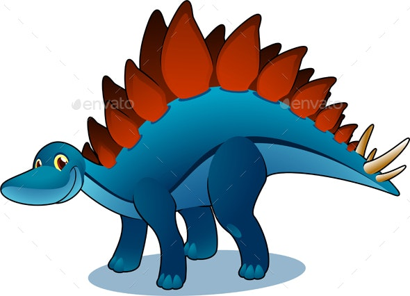 Stegosaurus Cartoon - Animals Characters