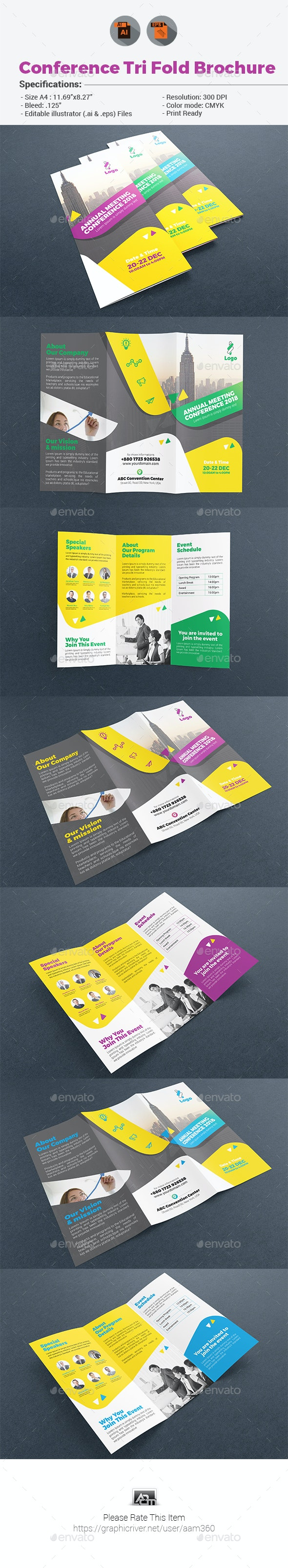 Event/Conference Brochure - Corporate Brochures