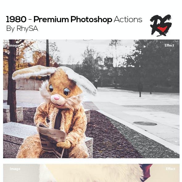 1980 - Premium Photoshop Actions
