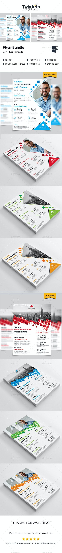 Flyer Bundle_2 in 1 - Flyers Print Templates