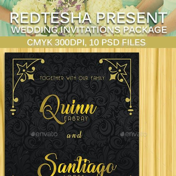10 Wedding Invitation Package