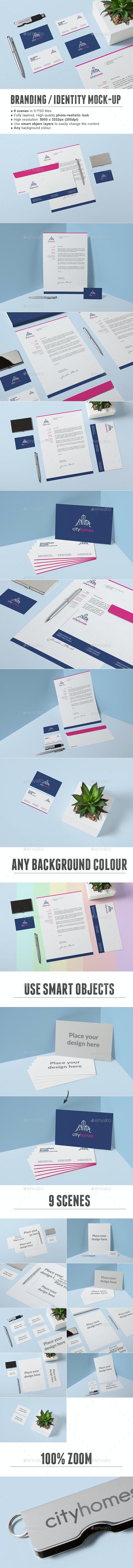 Branding / Identity Mock-up - Print Product Mock-Ups