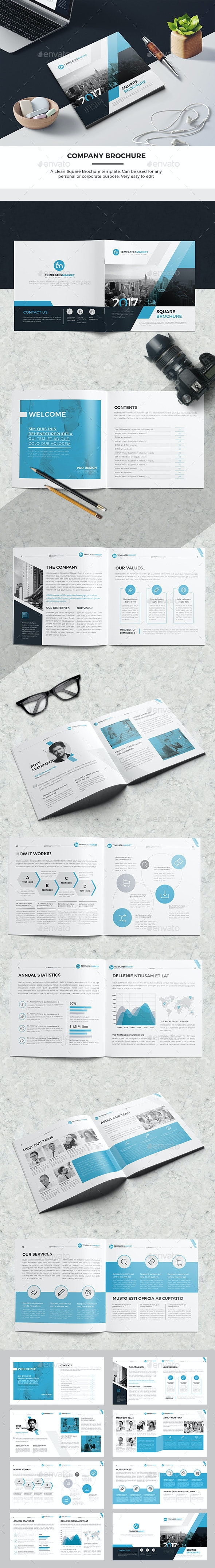 TM Square Company Brochure 16 Pages - Corporate Brochures